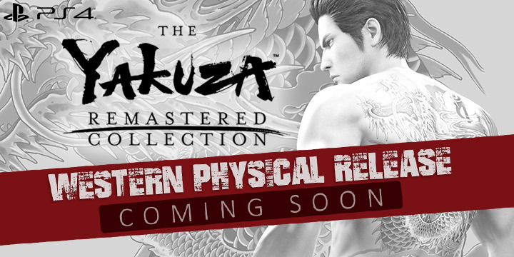 The Yakuza Remastered Collection Western Physical Release