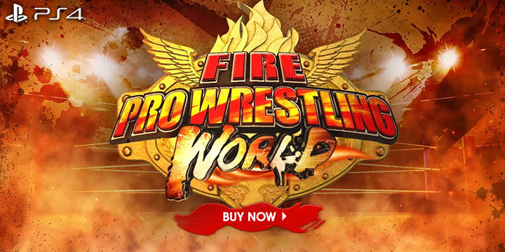 FIRE PRO WRESTLING WORLD, dlc, ps4, japan