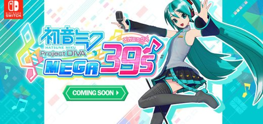 Hatsune Miku: Project Diva Mega39's, Nintendo Switch, Sega, Switch, release date, features, Japan, trailer, Hatsune Miku Project Diva Mega39's, Hatsune Miku: Project Diva Mega39's (MegaMix), 初音ミク Project DIVA MEGA39's