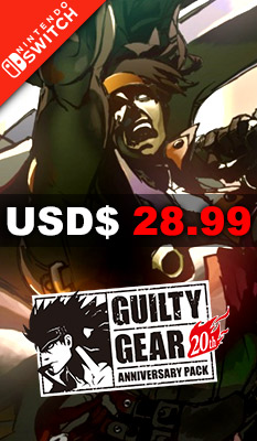 GUILTY GEAR [20TH ANNIVERSARY EDITION] PQube