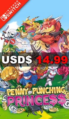 PENNY-PUNCHING PRINCESS NIS America