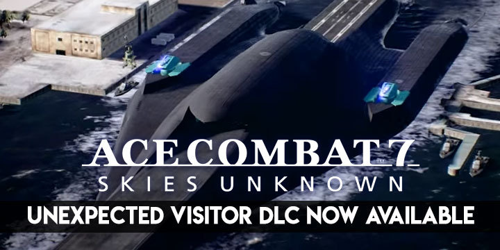 Ace Combat 7: Skies Unknown, Bandai Namco, PlayStation 4, PlayStation VR, Xbox One, PS4, PSVR, XONE, US, Europe, Japan, update, DLC, Season Pass, Unexpected Visitor