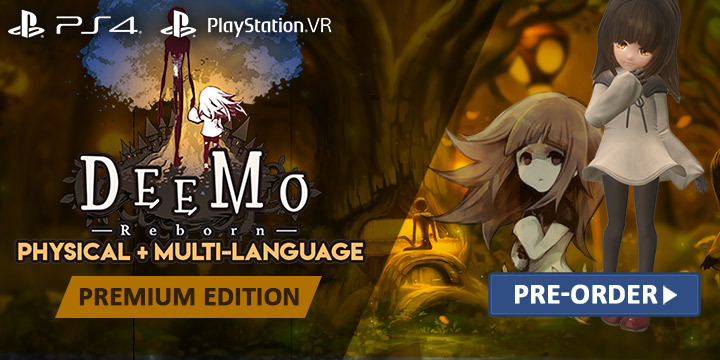 Deemo Reborn, Deemo, PS4, PSVR, PlayStation 4, PlayStation VR, Asia, Multi-language, Pre-order