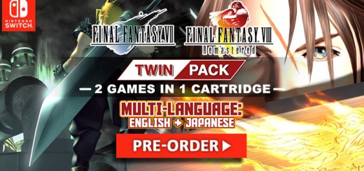 Final Fantasy VII & Final Fantasy VIII Remastered Twin Pack, Final Fantasy VII, Final Fantasy VIII Remastered, Twin Pack, Nintendo Switch, Switch, pre-order, price, release date, Asia, English, Multilanguage, features, physical, retail copy