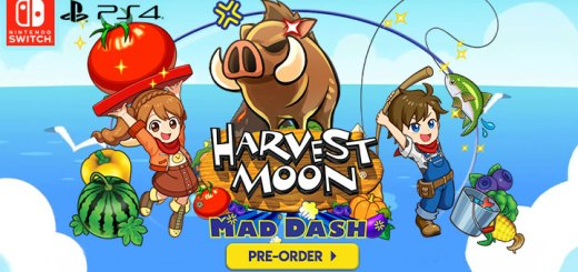 harvest moon, harvest moon: mad dash, ps4, playstation 4, switch, nintendo switch,us, north america, europe,au, asia, release date, EU, gameplay, features, price, pre-order,natsume inc