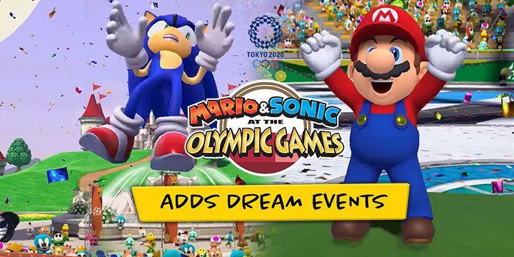 Mario & Sonic at the Olympic Games: Tokyo 2020, Tokyo Olympics 2020, Nintendo Switch, Switch, US, Europe, Japan, Asia, Pre-order, Sega, update, Dream Events