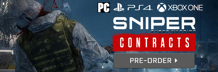 Sniper: Ghost Warrior - Contracts, PS4, XONE, PC, PlayStation 4, Xbox One, Windows, US Europe, Australia, Pre-order, City Interactive