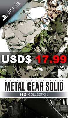 METAL GEAR SOLID HD COLLECTION, weekly special