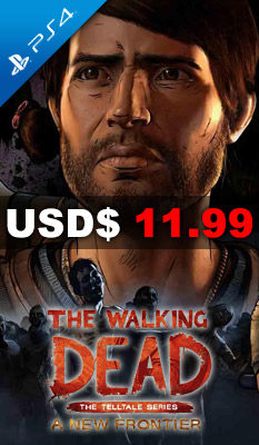 THE WALKING DEAD: THE TELLTALE SERIES - A NEW FRONTIER Warner Home Video Games