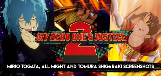 My Hero One's Justice 2, My Hero One's Justice, My Hero Academia, Boku no Hero Academia, PS4, PlayStation 4, Xbox One, XONE, Nintendo Switch, Switch, Pre-order, Bandai Namco Entertainment, Bandai Namco, Boku no Hero Academia: One's Justice 2, characters, update, All Might, Mirio Togata, Tomura Shigaraki