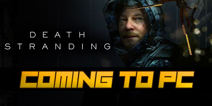 Ps4 Exclusive Games 2020.Death Stranding Heads To Pc In 2020 A Ps4 Exclusive No More