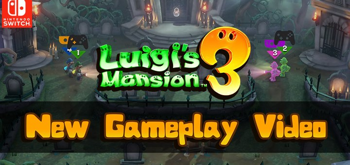 luigi's mansion 3,switch, nintendo switch, north america,us, europe, japan, asia, australia, release date, gameplay, features, price, pre-order now, new gameplay video, screampark mode