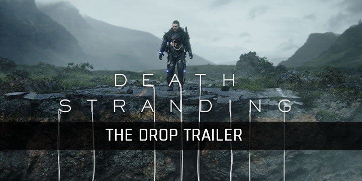 Death Stranding, PlayStation 4, North America, US, Europe, Japan, Asia, game, news, update, release date, new trailer, the drop trailer