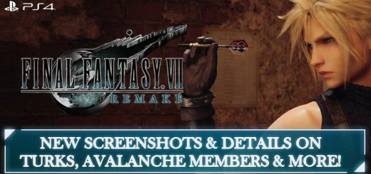 FF7R, Final Fantasy, Final Fantasy VII Remake, Square Enix, PS4, PlayStation 4, release date, features, price, pre-order, Japan, Europe, US, North America, AU, Australia, update, news