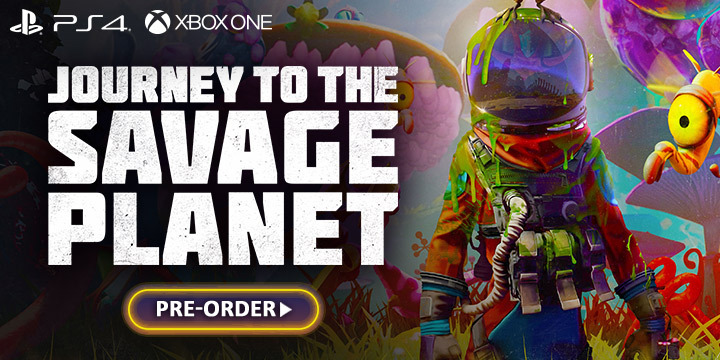 Journey to the Savage Planet, 505 Games, PS4, XONe, Playstation 4, Xbox One, Pre-order, US, Europe