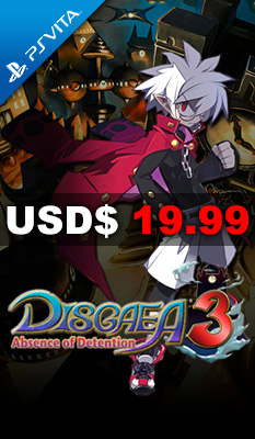 DISGAEA 3: ABSENCE OF DETENTION NIS America