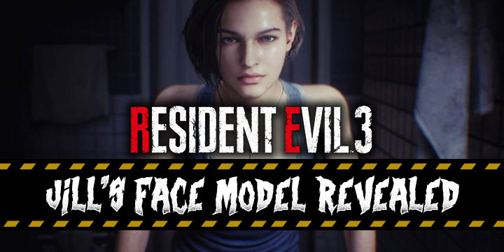 Resident Evil 3 Remake Check Out The Face Model Of Jill