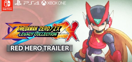 Mega Man Zero / ZX Legacy Collection, Mega Man, Rock Man, Capcom, PS4, XONE, Switch, PlayStation 4, Xbox One, Nintendo Switch, Pre-order, US, update, Japan, Red Hero, trailer