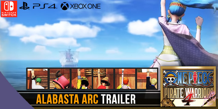 One Piece: Pirate Warriors 4, One Piece, Bandai Namco, PS4, Switch, PlayStation 4, Nintendo Switch, Asia, Pre-order, One Piece: Kaizoku Musou 4, Pirate Warriors 4, US, Europe, Japan