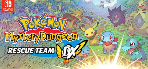 Pokemon Mystery Dungeon: Rescue Team DX, Pokemon Fushigi no Dungeon: Kyuujotai DX, Pocket Monsters, Pokémon, Pokémon Mystery Dungeon: Rescue Team DX, Switch, Nintendo Switch, Pre-order, US, Europe