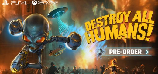 Destroy All Humans!, Black Forest Games, THQ Nordic,Europe north america, us,release date, gameplay, features, price, pre-order now, trailer, destroy all humans! remake