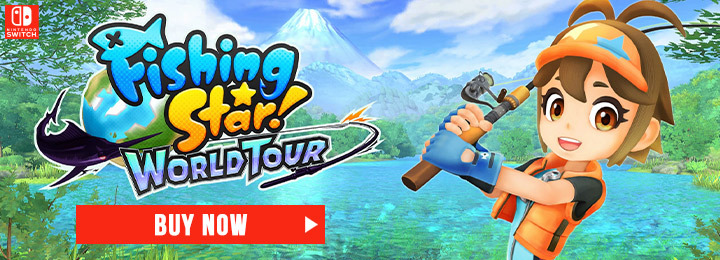 Fishing Star: World Tour, Fising Star World Tour,physical edition,Aksys Games, Europe,release date, gameplay, features, switch,nintendo switch,price, trailer