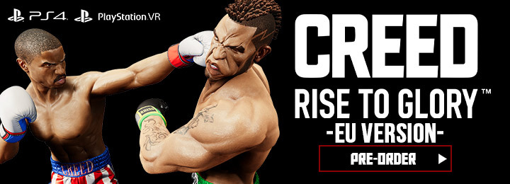 Creed: Rise to Glory, PS4, PlayStation 4, PSVR, PlayStation VR, VR, Virtual Reality, Europe, Sony Interactive Entertainment