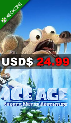 ICE AGE: SCRAT'S NUTTY ADVENTURE Bandai Namco Games