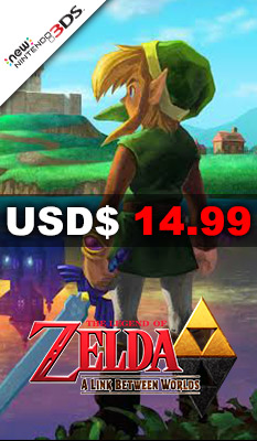 THE LEGEND OF ZELDA: A LINK BETWEEN WORLDS Nintendo
