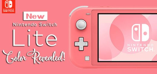 Nintendo Switch Lite, Nintendo, New color variation, features, Japan, US, North America, New Switch Lite Color, Coral Switch Lite, Coral Colored Switch, Nintendo Switch Lite Coral, Nintendo switch lite new color