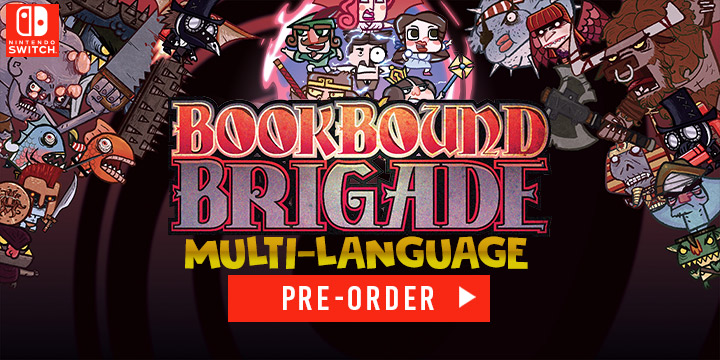 Bookbound Brigade, Switch, Nintendo Switch, Asia, release date, gameplay, features, price, pre-order, physical edition, Intragames, Digital Tales, Multi-language, trailer, English, Chinese, Japanese
