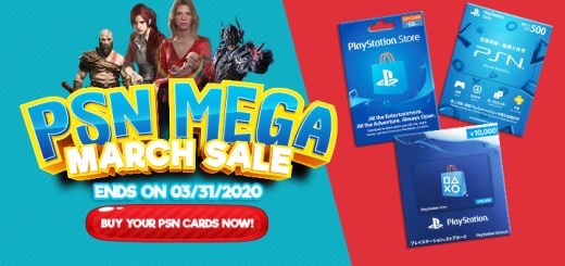 PSN, PSN Sale, PlayStation Store Sale, Mega March Sale, PlayStation Mega March Sale, digital games, Hong Kong, Japan, US, North America, Sony Computer Entertainment