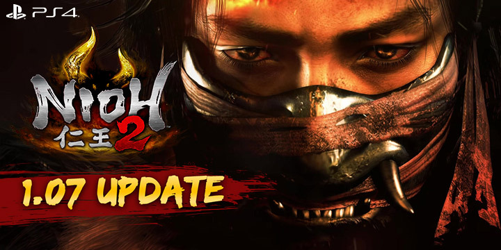 Nioh 2, Nioh, PlayStation 4, PS4, US, Koei Tecmo Games, Koei Tecmo, gameplay, features, release date, price, trailer, screenshots, Team Ninja, news, update, version 1.07, 1.07 update
