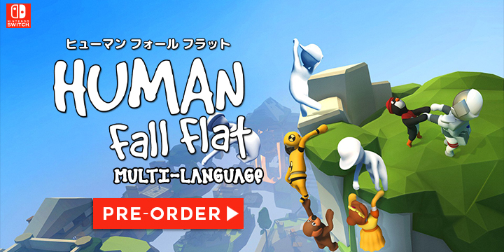 Human: Fall Flat, Nintendo Switch, Switch, Japan, Teyon, pre-order, gameplay, features, release date, price, trailer, screenshots, ヒューマン フォール フラット
