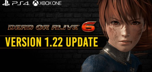 Dead or Alive 6, PlayStation 4, Xbox One, US, North America, Europe, release date, trailer, gameplay, features, Koei Tecmo Games, Team Ninja, news, Update, DOA 6, Version 1.22, April Update, Patch Notes, PS4