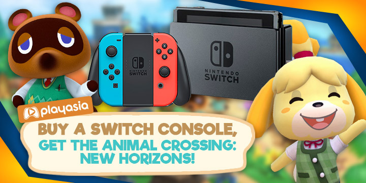 Buy A Nintendo Switch V2 Get The Animal Crossing Game For Free
