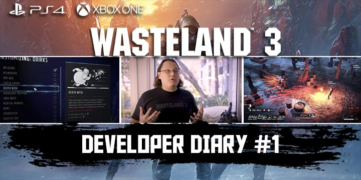 Wasteland 3, inXile Entertainment, Deep Silver , PS4, Playstation 4, US, North America, Europe, Release Date, Gameplay, Features, price, pre-order now, trailer, XONE, Xbox One, news, update, developer diary 1, character creation