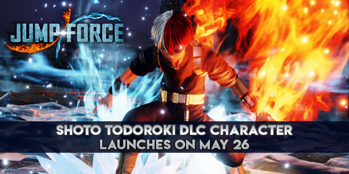 Jump Force, PlayStation 4, Xbox One, gameplay, price, features, US, North America, Europe, update, news, DLC, Shoto Todoroki, Japan, Jump Force Deluxe Edition