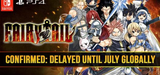 Fairy Tail, PS4, Switch, PlayStation 4, Nintendo Switch, release date, features, price, pre-order, news, update, Japan, West, US, EU, delay, delayed