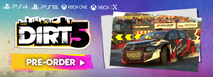 Dirt 5, DiRT 5, XONE, Xbox One, PS4, Xbox X Series, PS5, PlayStation 5, PlayStation 4, EU, Europe, Release Date, Gameplay, Features, price, pre-order now, Codemasters, trailer, screenshots, Asia, North America, Dirt series