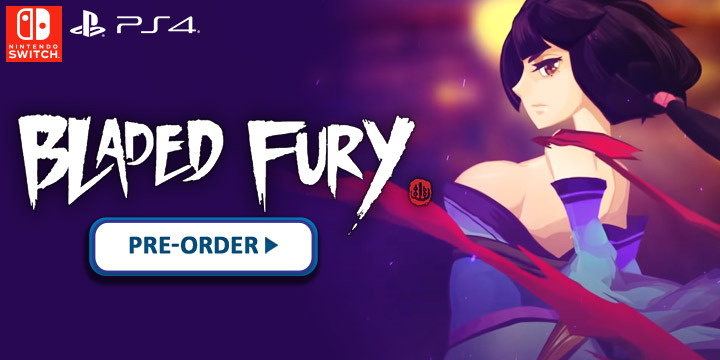Bladed Fury, PlayStation 4, Nintendo Switch, PS4, Switch, Europe, PM Studios, gameplay, features, release date, price, trailer, screenshots
