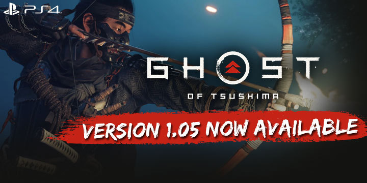 Ghost of Tsushima, Sony Computer Entertainment, Sony, PlayStation 4, US, Europe, PS4, gameplay, features, release date, price, trailer, screenshots, Asia, collector's edition, Japan, update, version 1.05