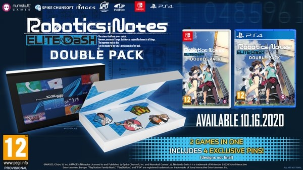 Robotics; Notes Double Pack, Robotics Notes Double Pack, Robotics; Notes Elite, Robotics; Notes Dash, PS4, PlayStation 4, Spike Chunsoft, Nintendo Switch, North America, US, Europe, release date, features, price, pre-order now, trailer