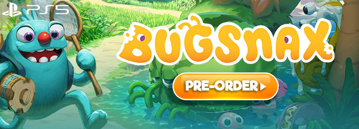 Bugsnax, PS5, PlayStation 5, North America, US, Japan, Asia, Europe, Young Horses, release date, features, price, pre-order now, trailer, screenshots