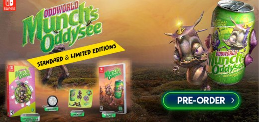 Oddworld: Munch's Oddysee, Oddworld: Munch's Oddysee [Limited Edition], Microids, Oddworld Inhabitants, Physical Release, Standard Edition, Limited Edition, Europe, price, pre-order, features, Switch, Nintendo Switch, trailer, Oddworld Munch's Oddysee