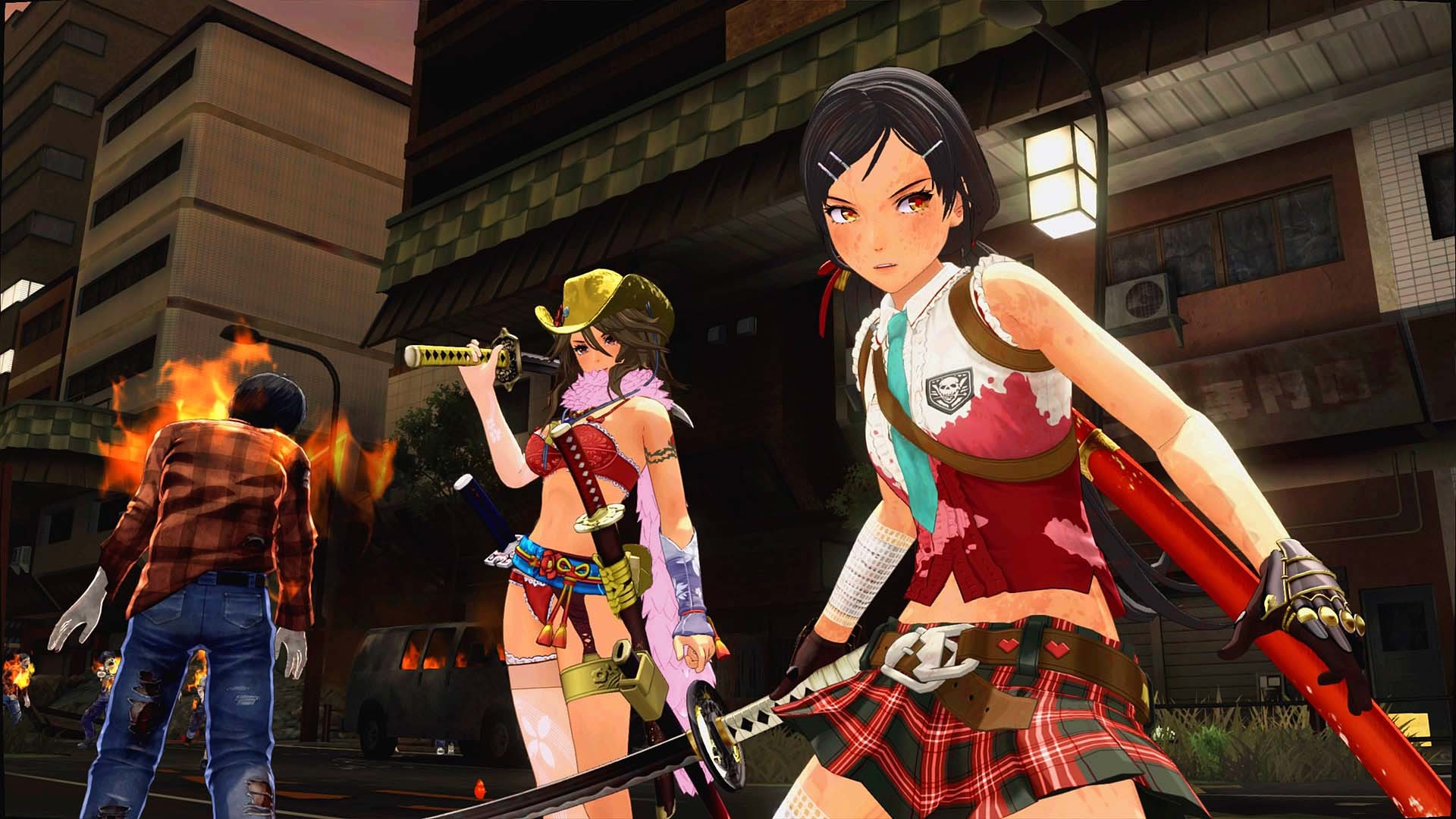 Onechanbara Origin, English, PS4, PlayStation 4, Asia, Multi-language, release date, gameplay, features, price, pre-order