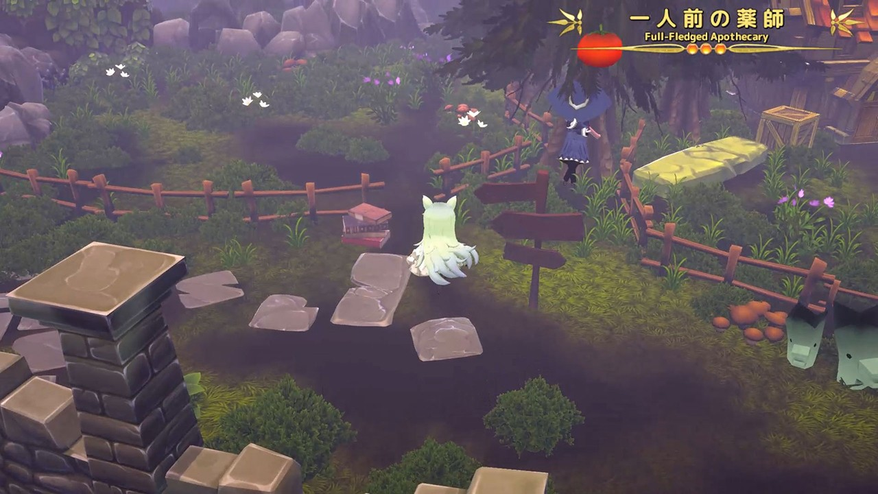 Marchen Forest: Mylne and the Forest Gift, メルヘンフォーレスト, Marchen Forest Mylne and the Forest Gift, PS4, PlayStation 4, Nintendo Switch, Switch, Limited Edition, English, Multi-language, trailer, gameplay, screenshots, figure, Clouded Leopard Entertainment