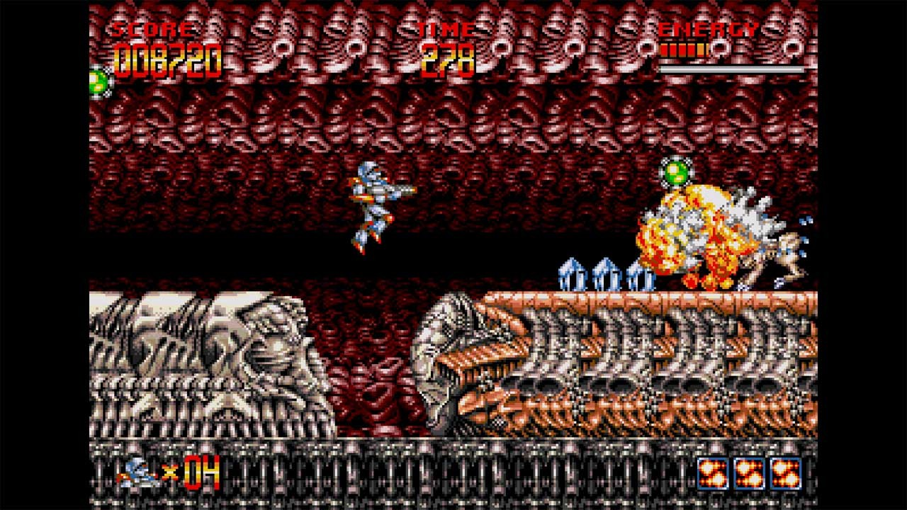 Turrican Flashback, ININ Games, PS4, PlayStation 4, Nintendo Switch, Switch, release date, price, pre-order, gameplay, features, Europe
