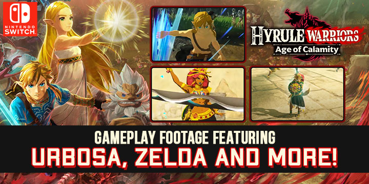 Hyrule Warriors Age Of Calamity Gameplay Footage