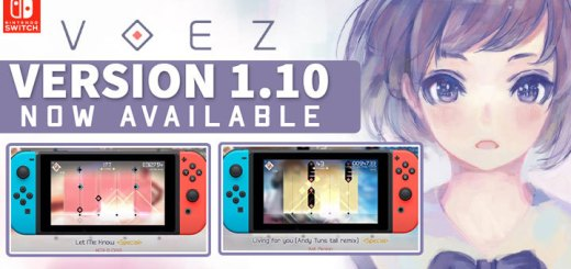 VOEZ, Switch, US, gameplay, features, release date, price, trailer, screenshots, Japan, version 1.10, update, Flyhigh Works